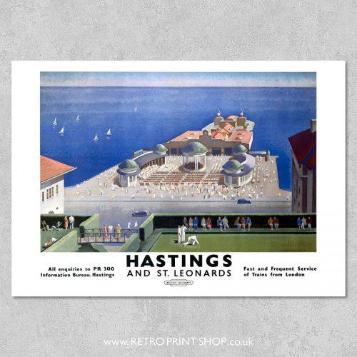 Hastings St Leonards Poster
