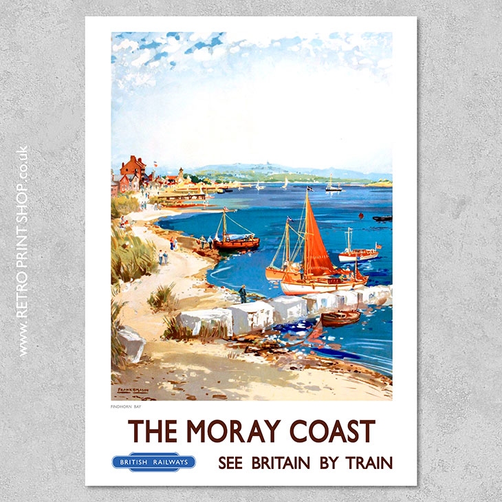 Moray Coast Findhorn Bay Poster