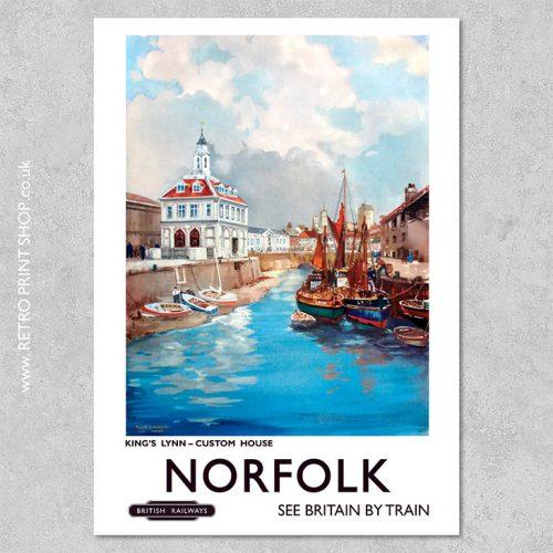 Norfolk Poster Kings Lynn