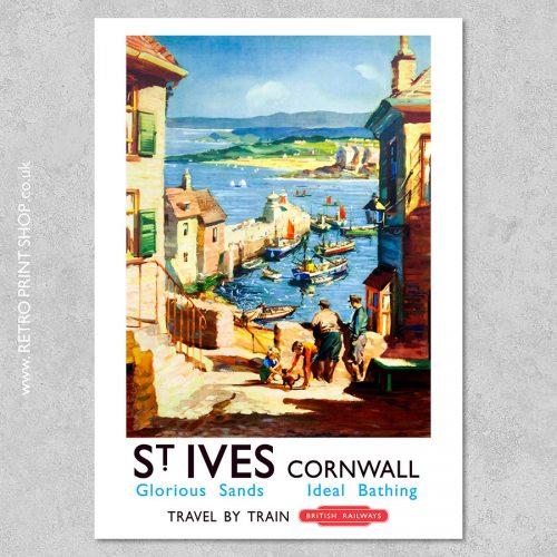 St Ives Poster