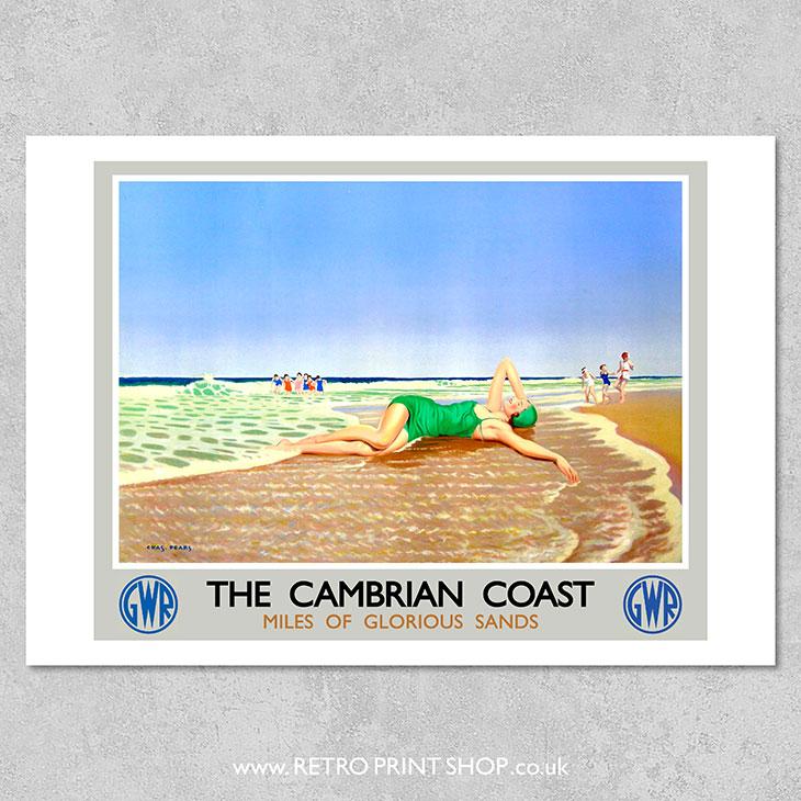 Cambrian Coast Poster