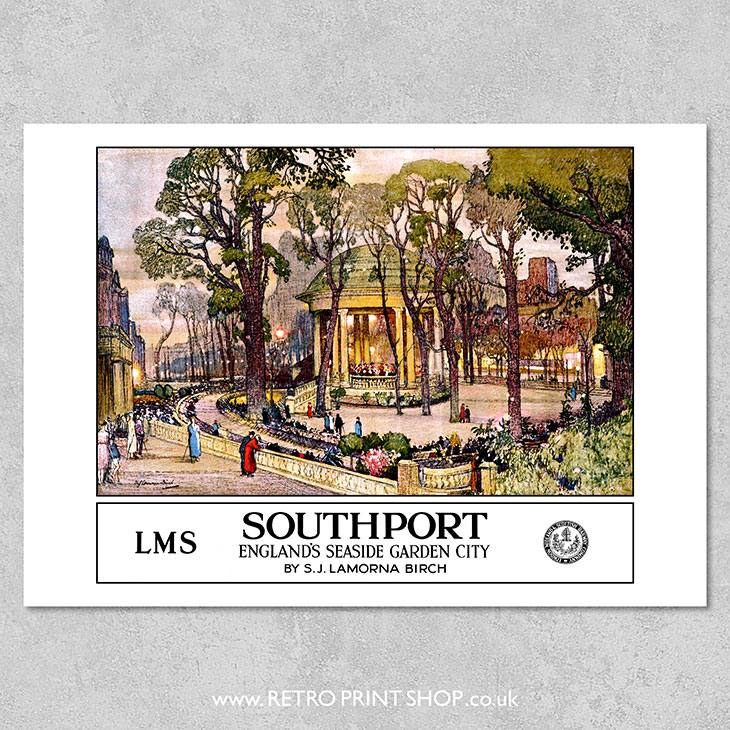 LMS Southport Poster