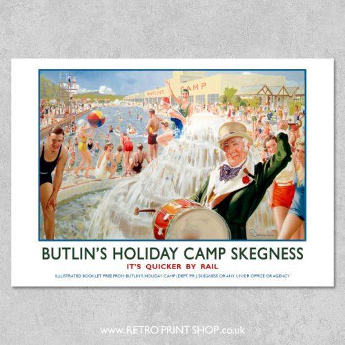 Skegness Butlins Poster