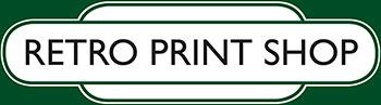 Vintage Railway Posters, Retro Print Shop