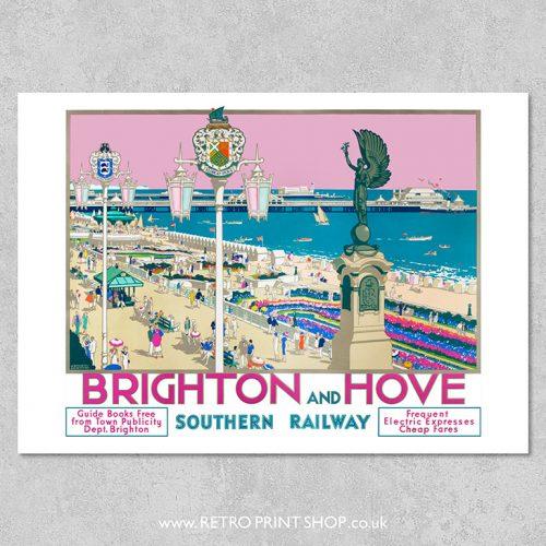 SR Brighton & Hove Poster