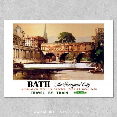 Bath Georgian City Poster