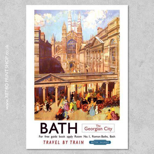 Bath Railway Poster