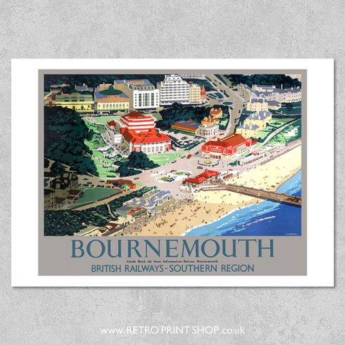 Bournemouth Poster