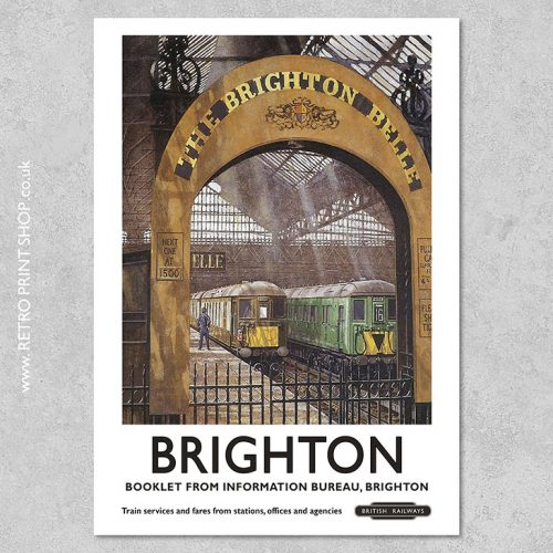 Brighton Belle Poster