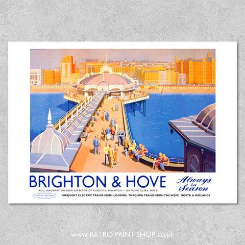 Brighton & Hove Poster