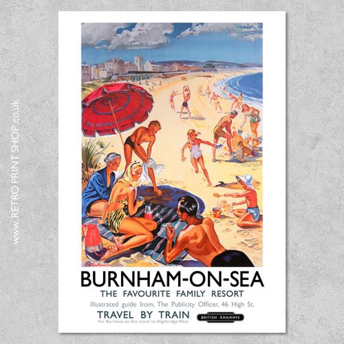 Burnham-on-Sea Poster