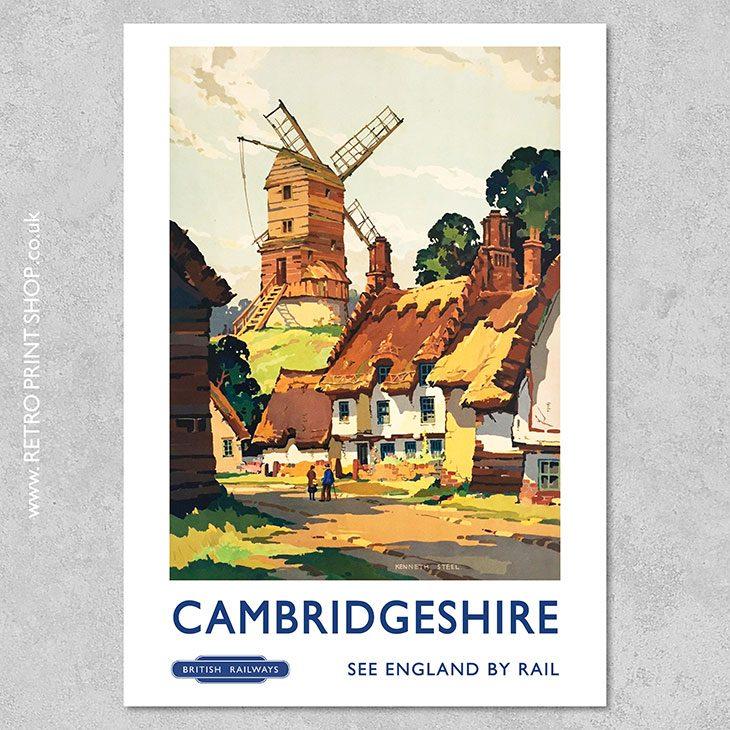 Cambridgeshire Poster