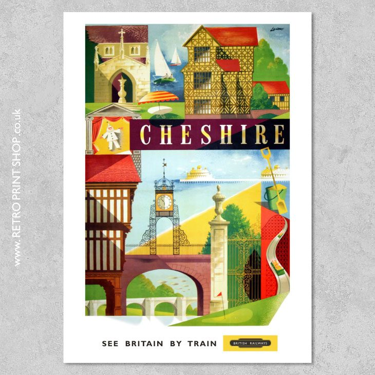 Cheshire Poster