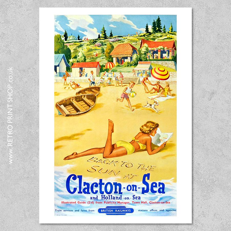 Clacton-on-Sea Poster