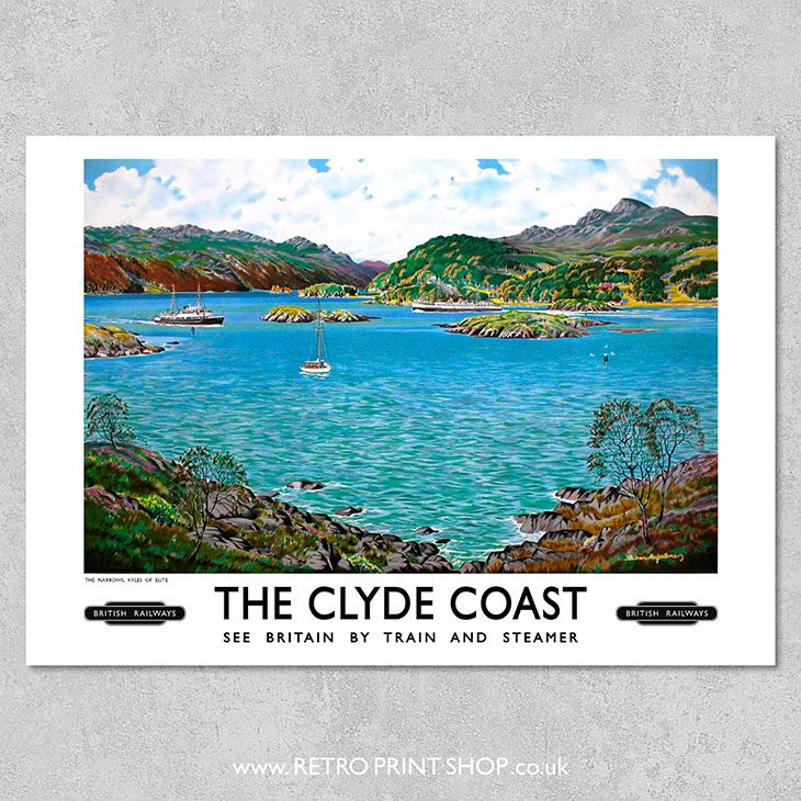 Clyde Coast Poster