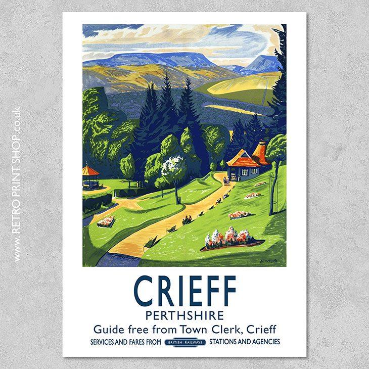 Crieff Poster