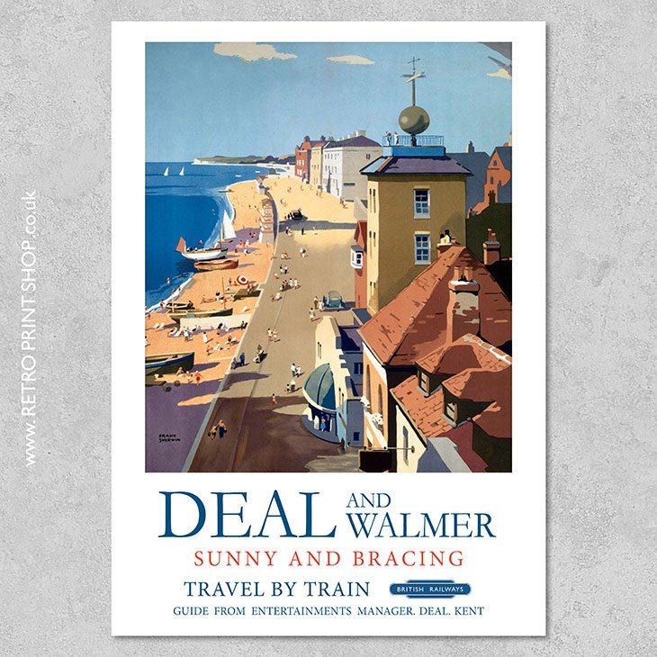 Deal & Walmer Poster