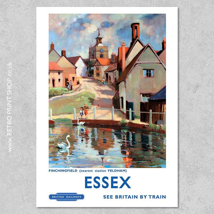 Essex Finchingfield Poster