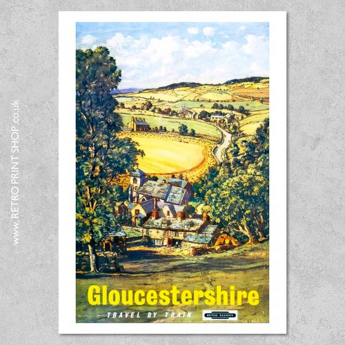Gloucestershire Poster