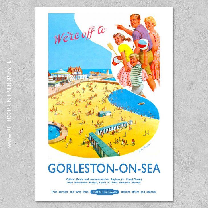 Gorleston-on-Sea Poster 2