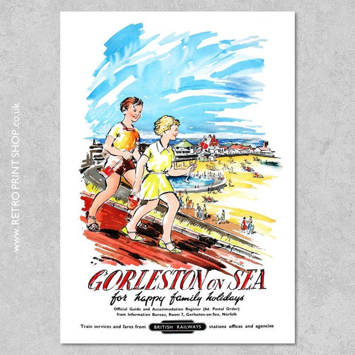 Gorleston-on-Sea Poster