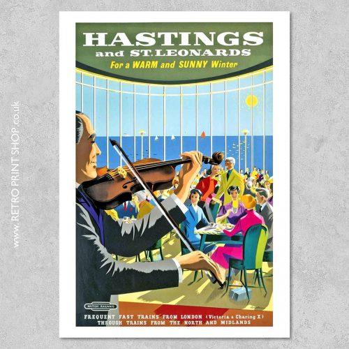 Hastings Railway Poster #6