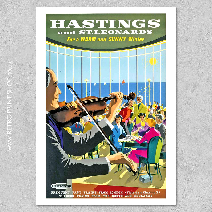 Hastings Railway Poster #6
