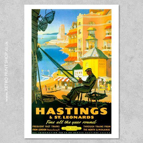 Hastings St Leonards Poster 2