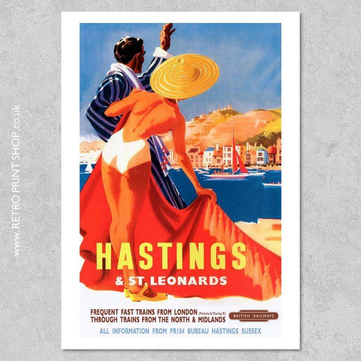 Hastings St Leonards Poster 3