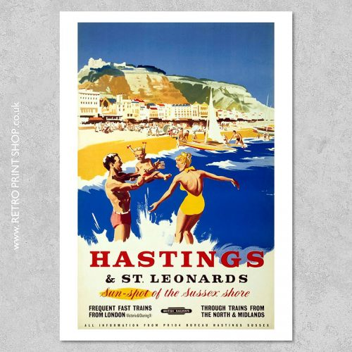 Hastings St Leonards Poster 5