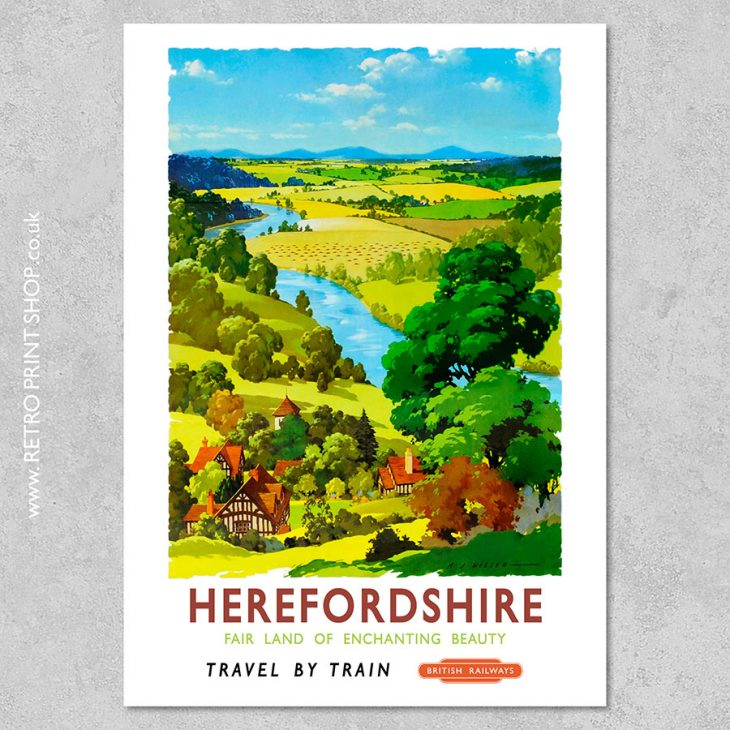 Herefordshire Poster