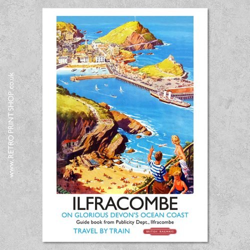 Ilfracombe Poster