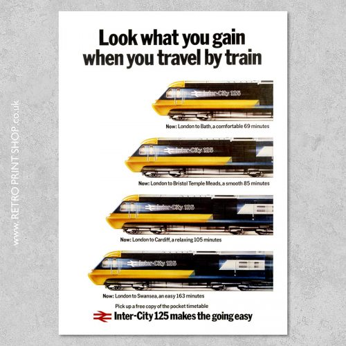 Intercity 125 poster