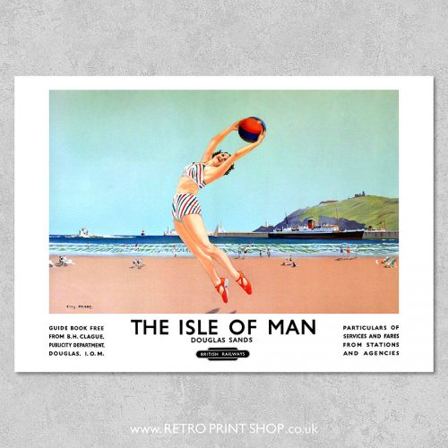 BR Isle of Man Douglas Sands poster