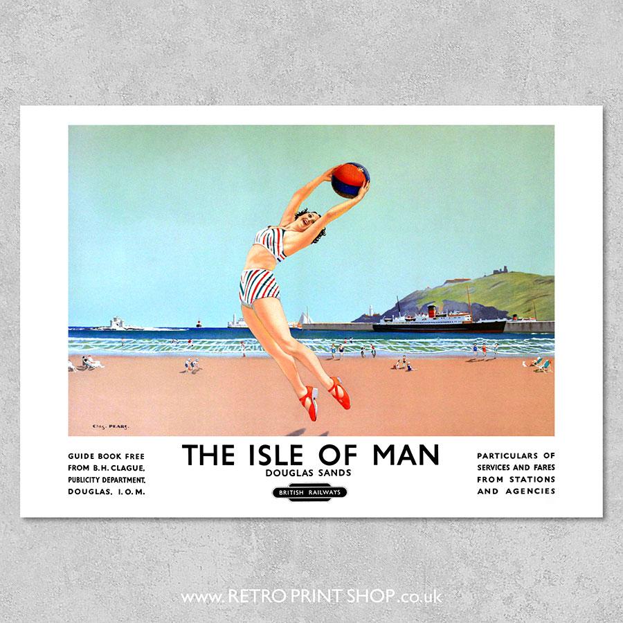 BR Isle of Man Douglas Sands poster