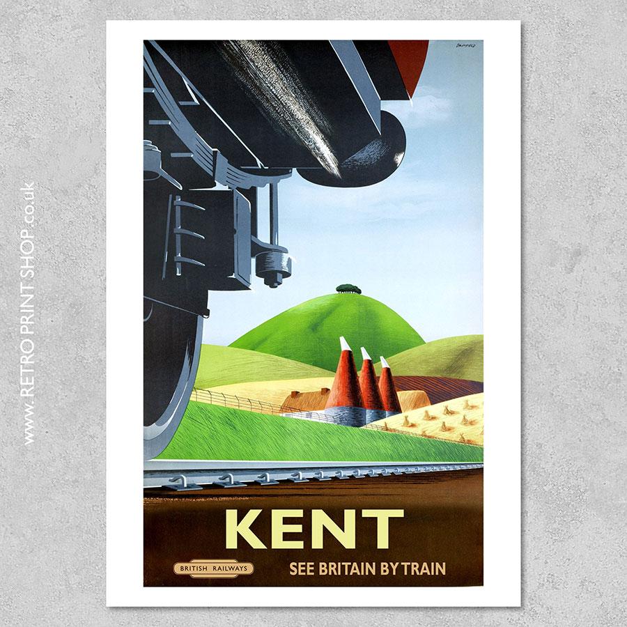Kent Railway Poster