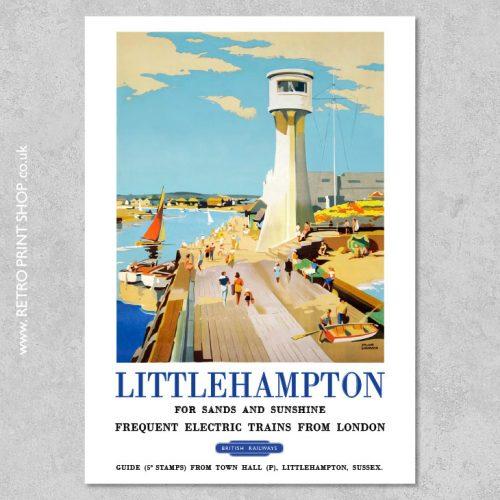 Littlehampton Poster