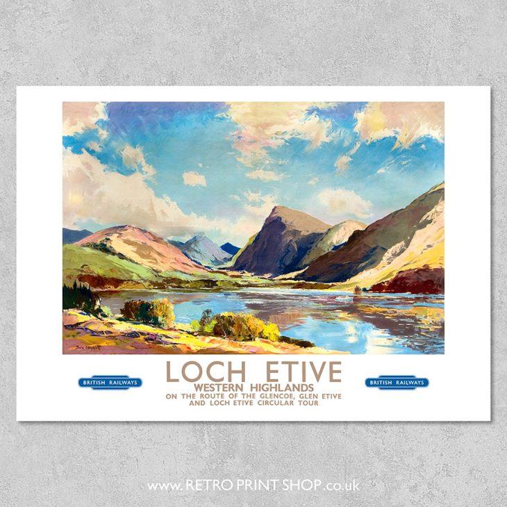 Loch Etive poster