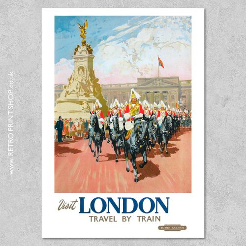 British Railways London Poster