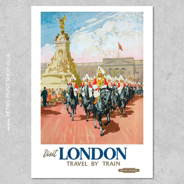 British Railways London Poster