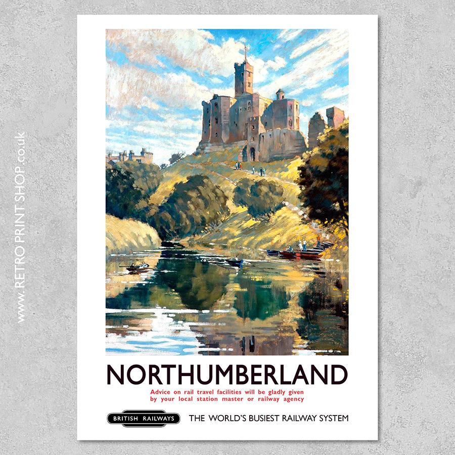 Northumberland Poster