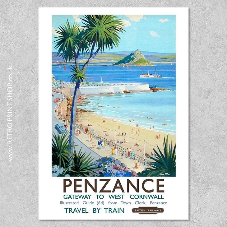 Penzance Poster