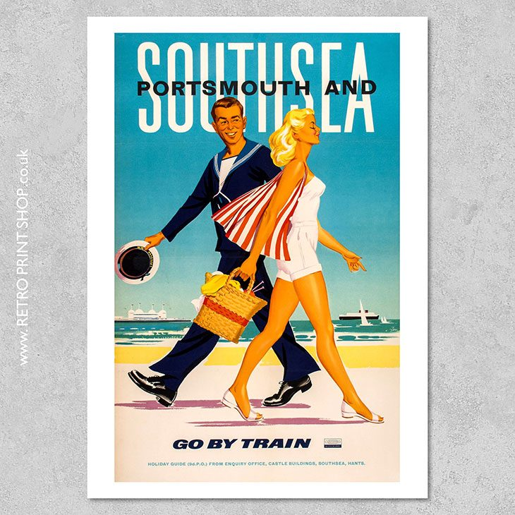 Portsmouth & Southsea Poster