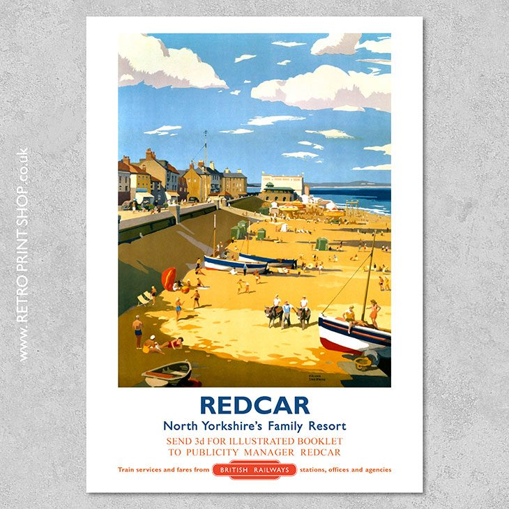 Redcar Poster