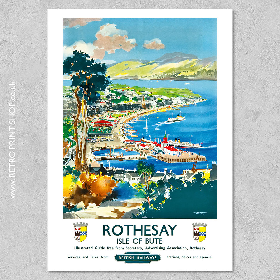 Rothesay Isle of Bute poster