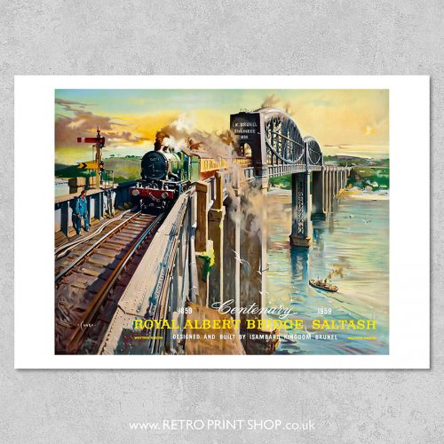 Royal Albert Bridge Poster