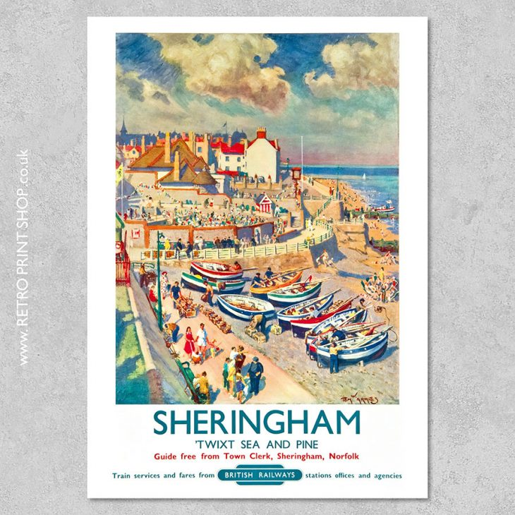 Sheringham Poster