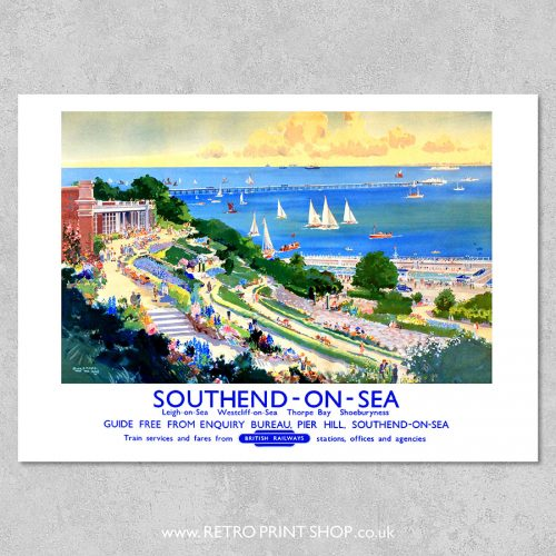 Southend-on-Sea Poster