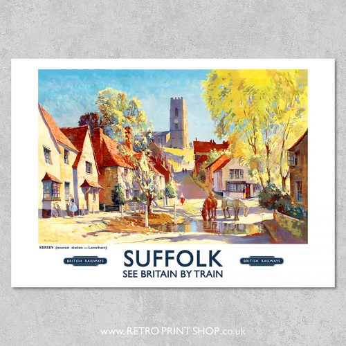 Suffolk Poster Kersey