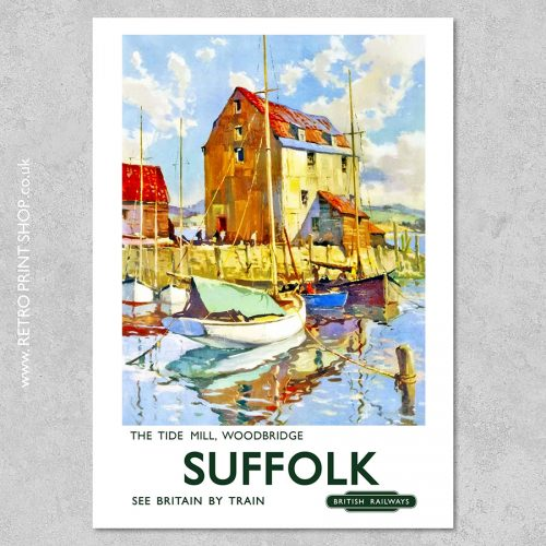 Suffolk Tide Mill Poster